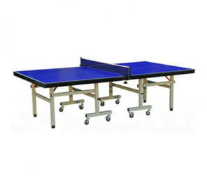 高密度压缩板材料的室内乒乓球台