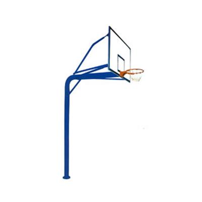 BS-LQ1012 地埋圆管篮球架