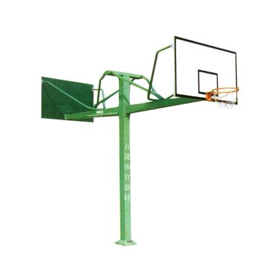 BS-LQ1013 地埋方管双向篮球架