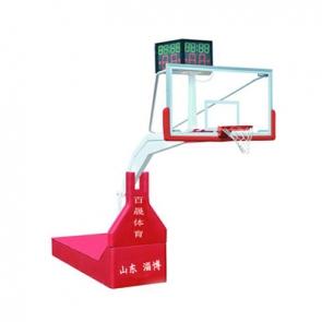 BS-LQ1001 电动液压篮球架(遥控)