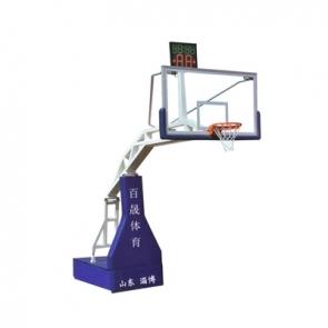 BS-LQ1004 电动液压篮球架(遥控)