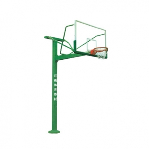 BS-LQ1011 地埋方管篮球架